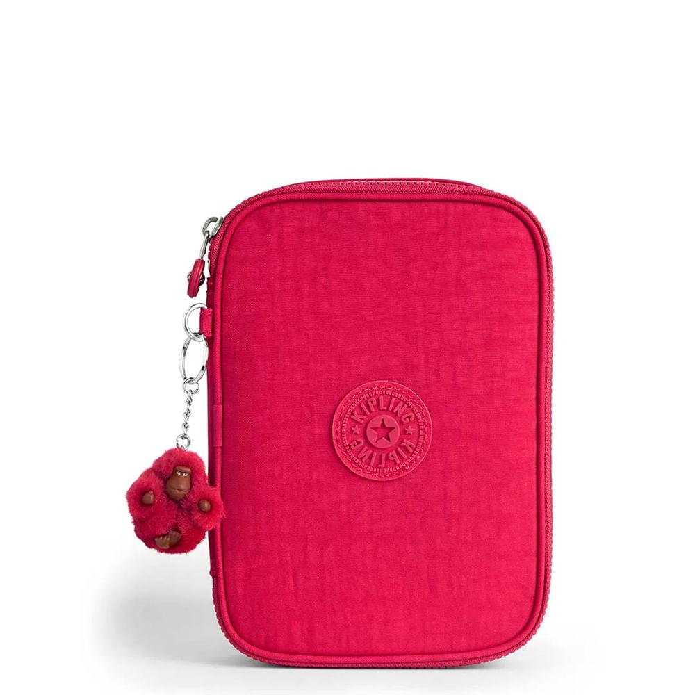 Estojo  Kipling 100 Pens Pink