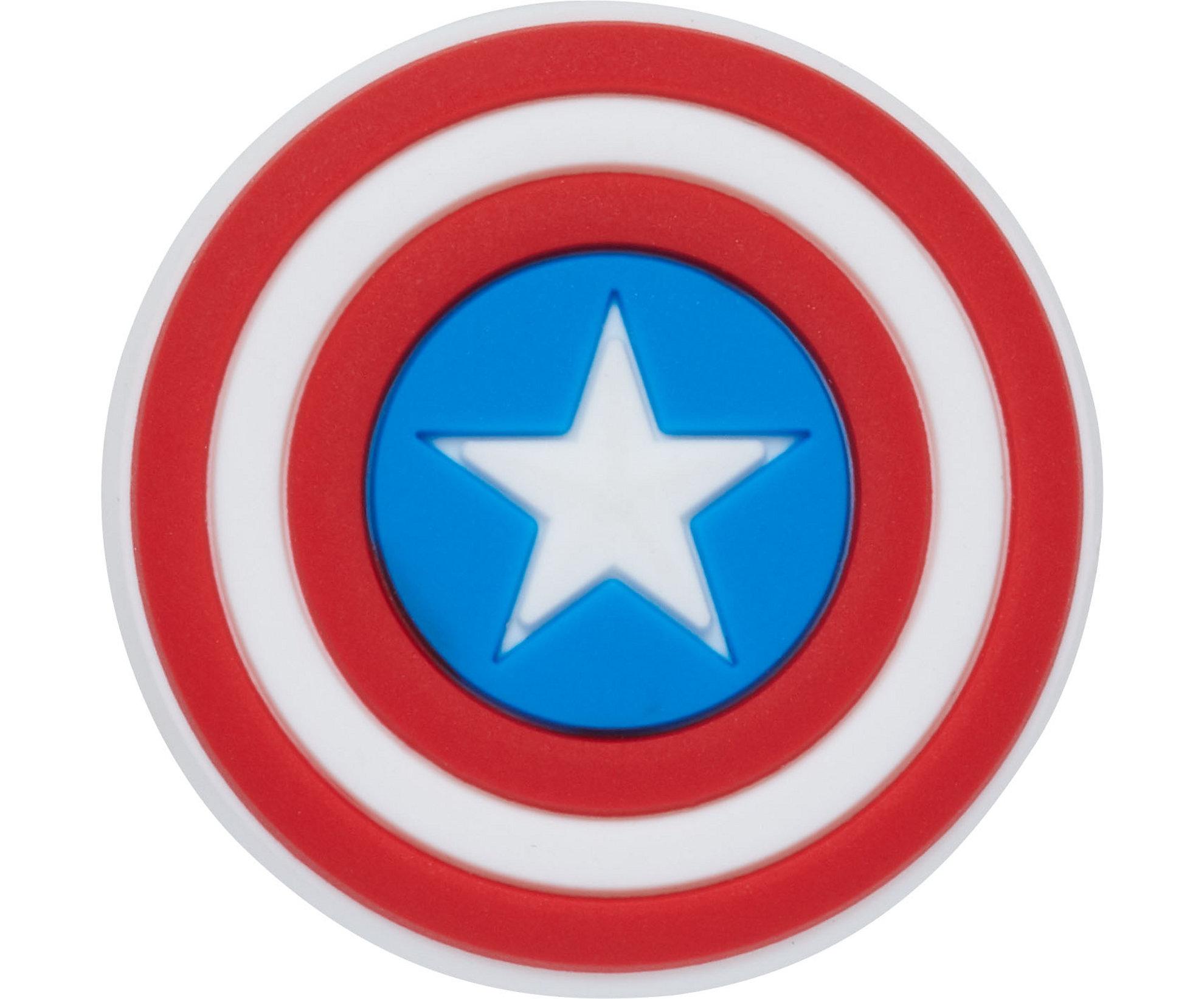 Jibbitz Crocs Captain America Shield