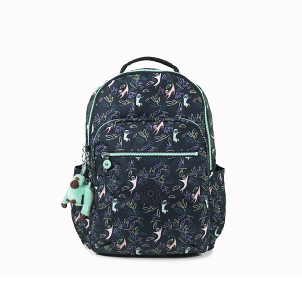 Mochila Kipling Seoul Jungle Monkeys