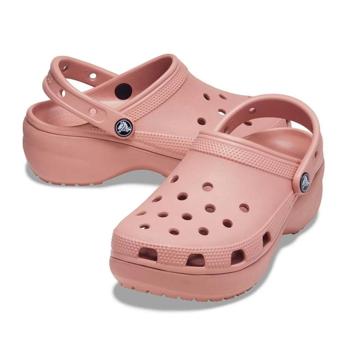 Sandália Crocs Feminino Classic Platform Clog Rosa