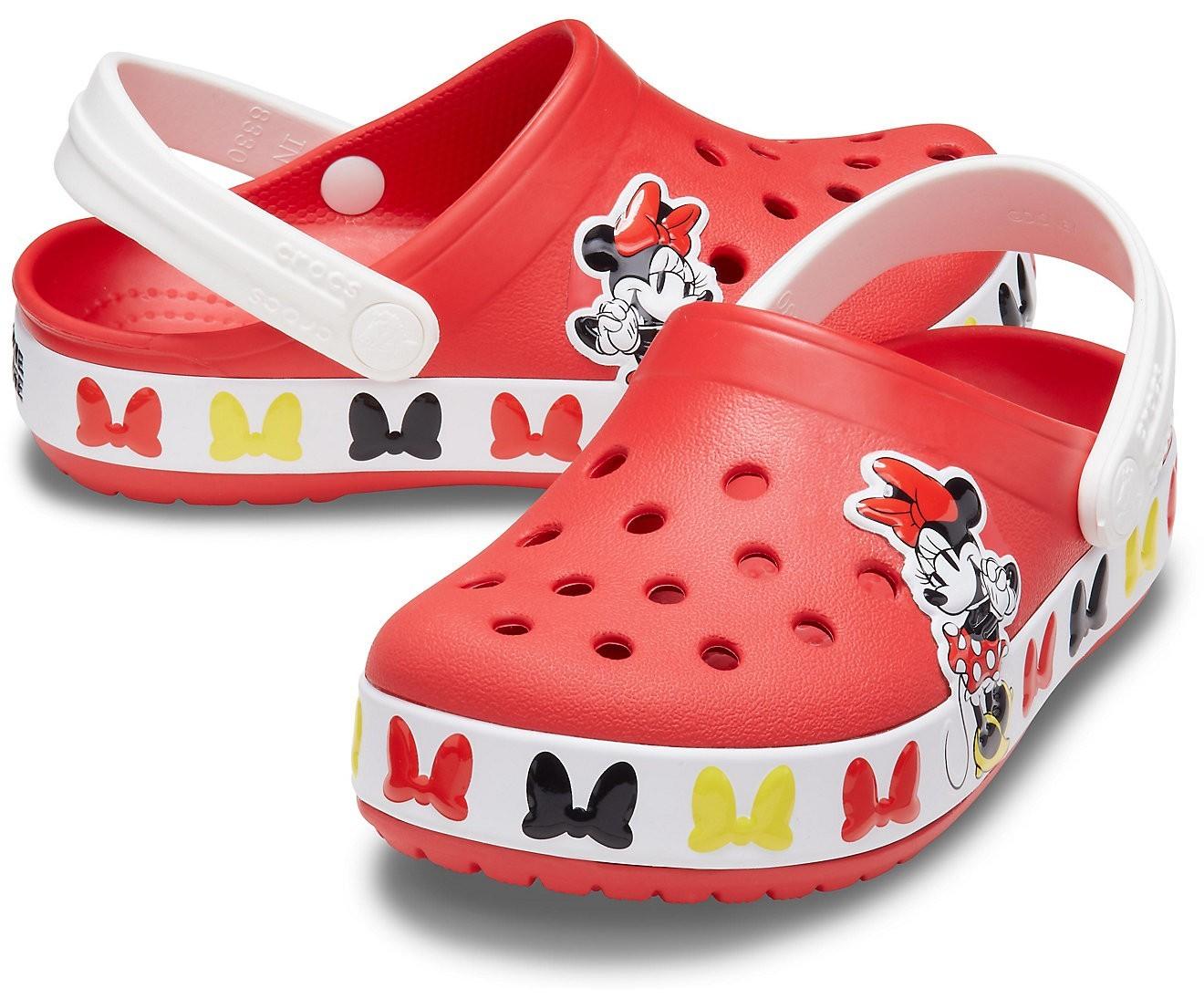 Sandália Crocs Crocband Clog Minnie Mouse Disney