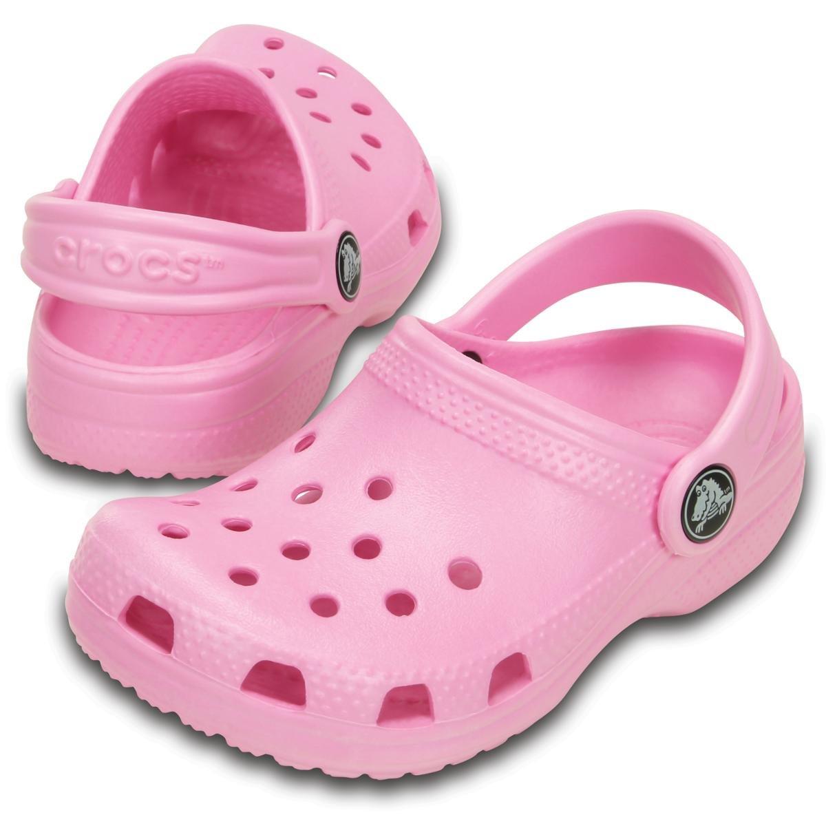 Sandália Crocs Infantil Classic Clog Rosa