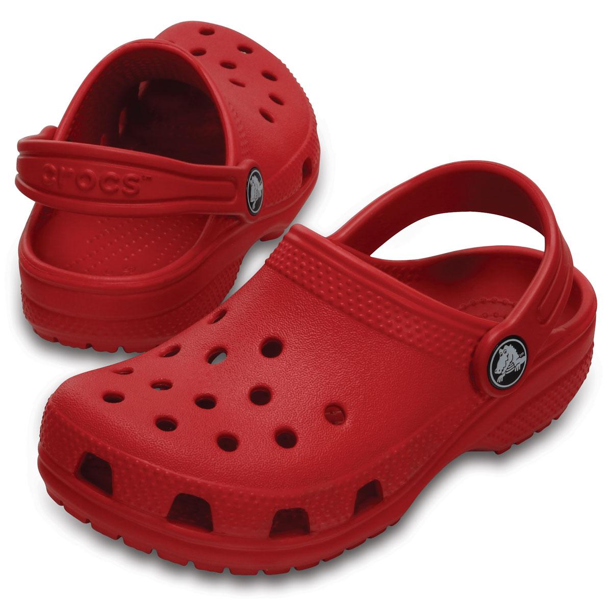 Sandália Crocs Infantil Classic Clog Vermelho