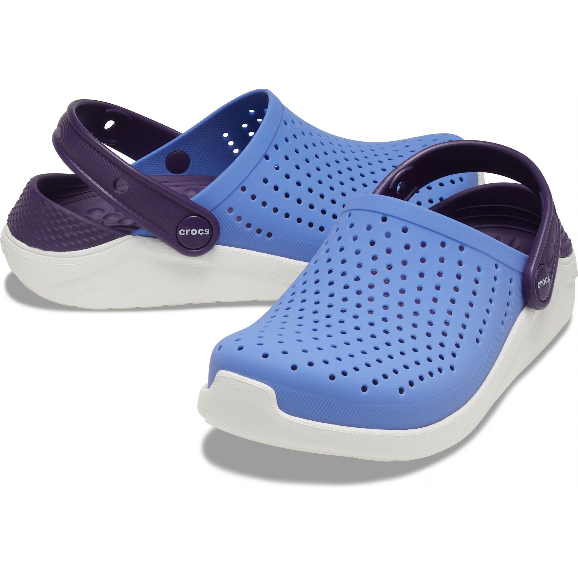 Sandália Crocs Infantil Literide Clog Azul