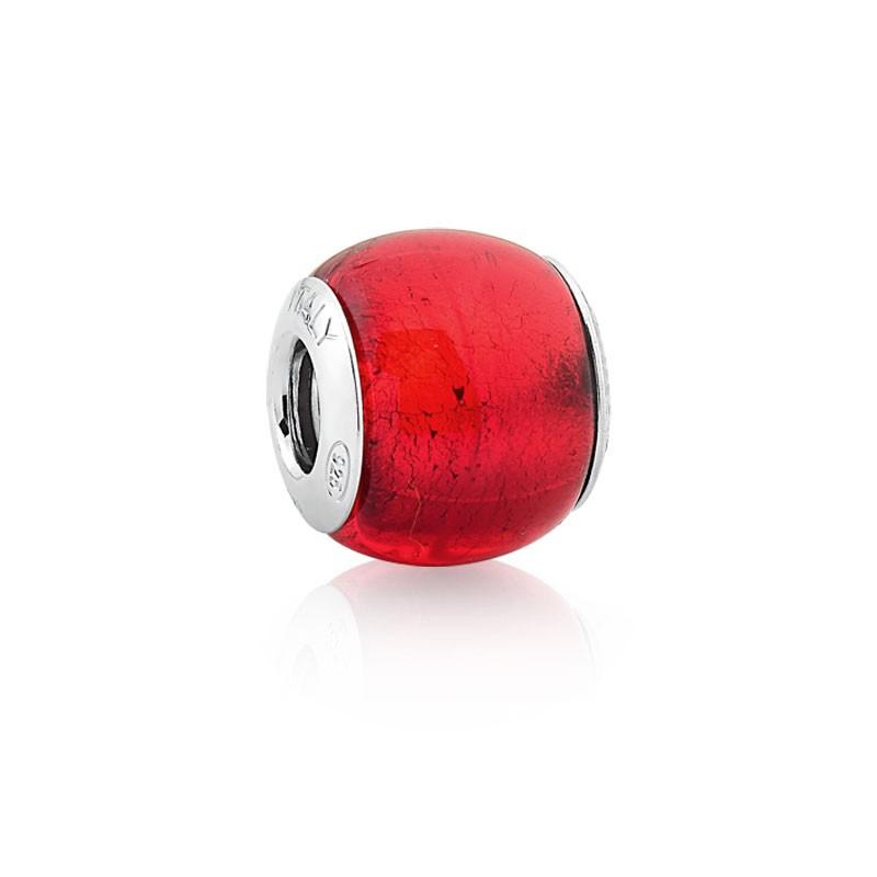 Berloque Murano Vermelho
