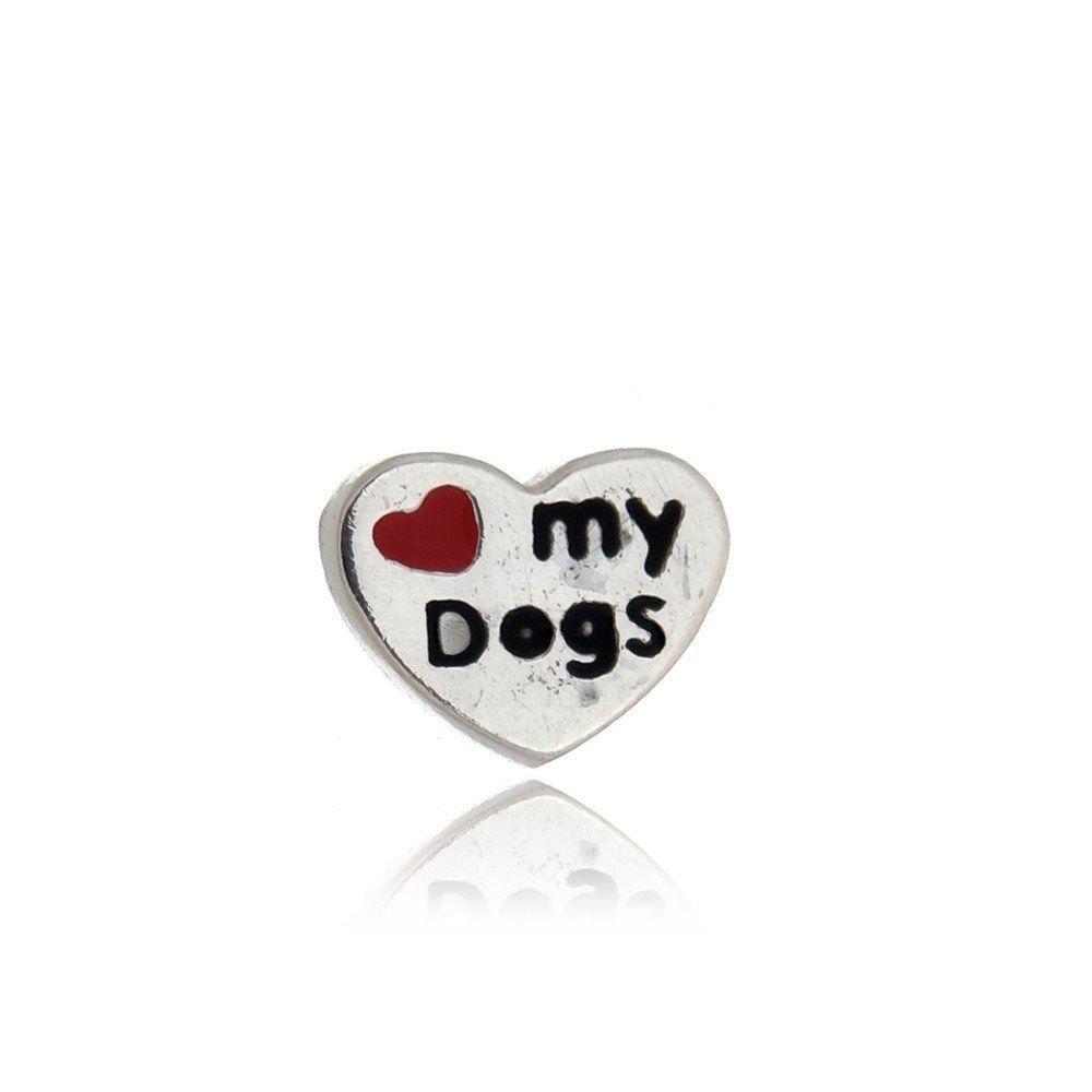 Mini Charm Coração Dog