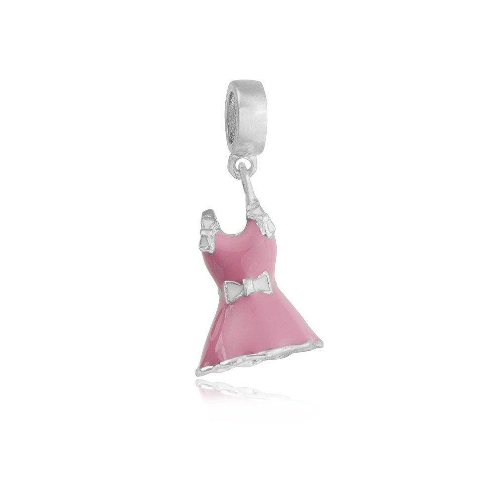 Berloque Vestido Rosa