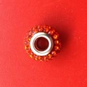 Berloque Cristal Vermelho