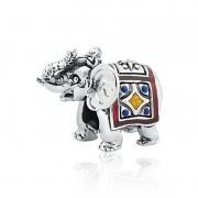 Berloque Elefante Indiano Esmaltado