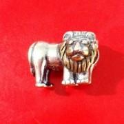 Berloque Leão com Dourado