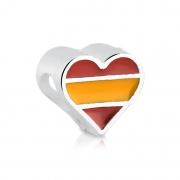 Berloque Coração Espanha Bijoux