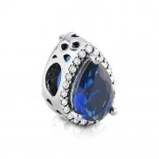 Berloque Gota Azul Marinho