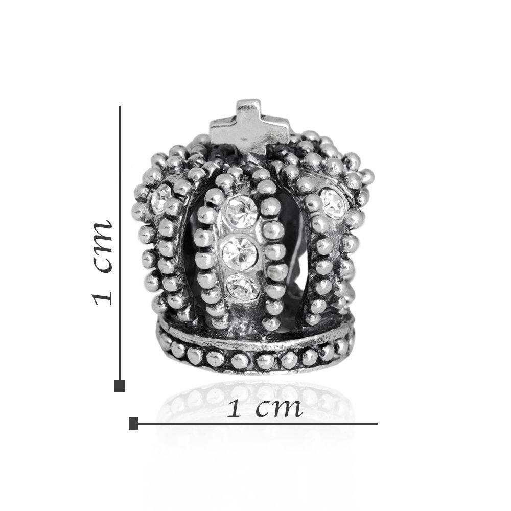 Berloque Coroa de Pedras
