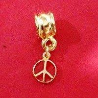 Berloque Símbolo Da Paz Colors