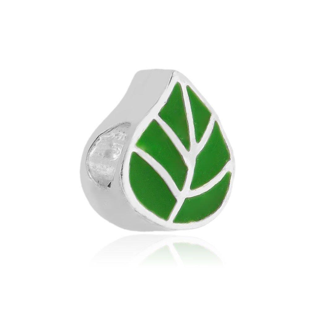 Berloque Folha Verde