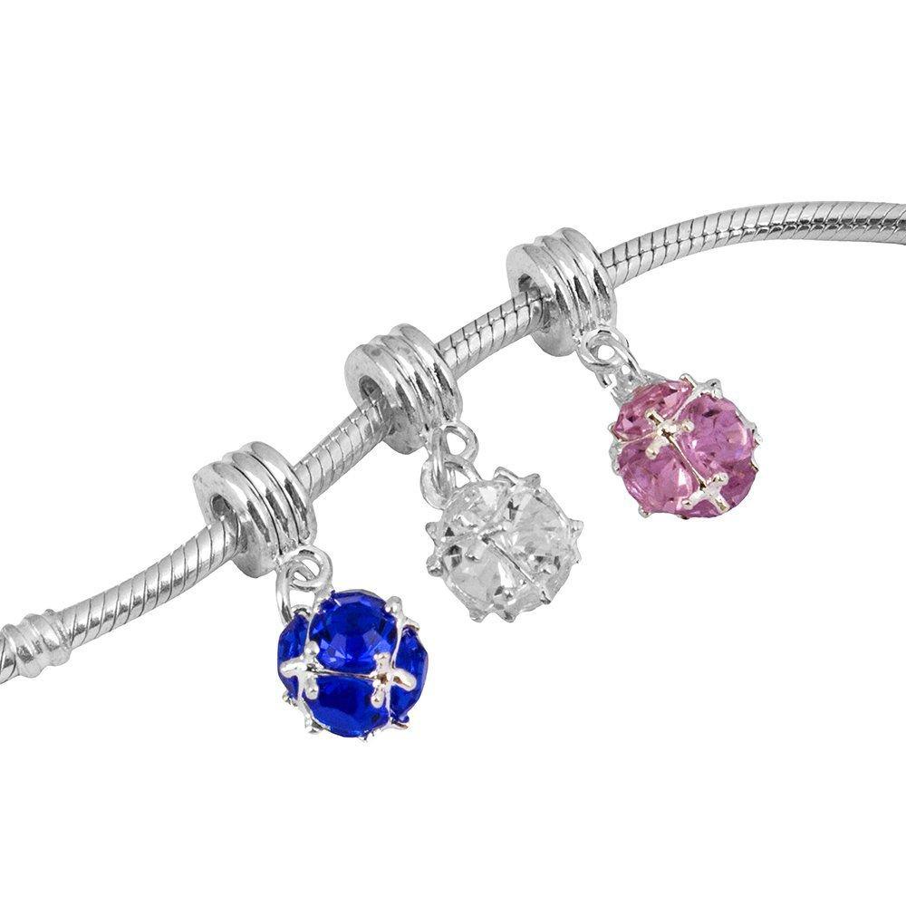 Berloque Pingente Cristal Bijoux