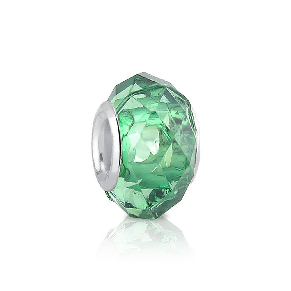 Berloque Murano Verde Esmeralda Bijoux