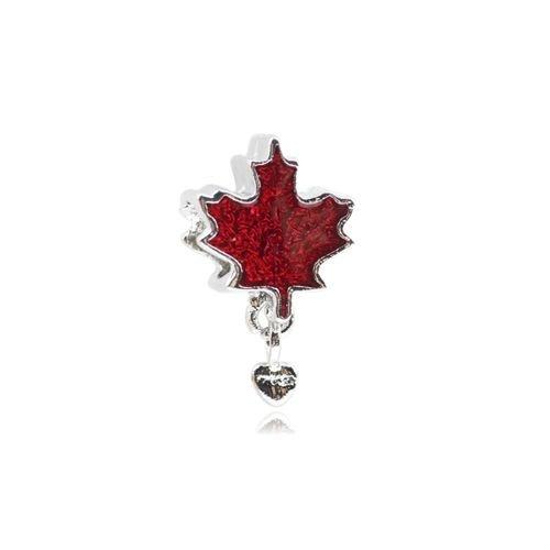 Berloque Folha Canadá Bijoux