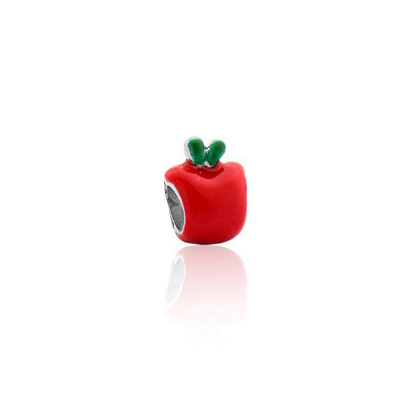 Berloque Maçã Vermelha Bijoux