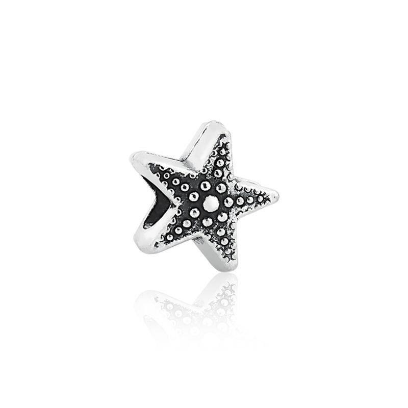 Berloque Estrela do Mar Metalizada