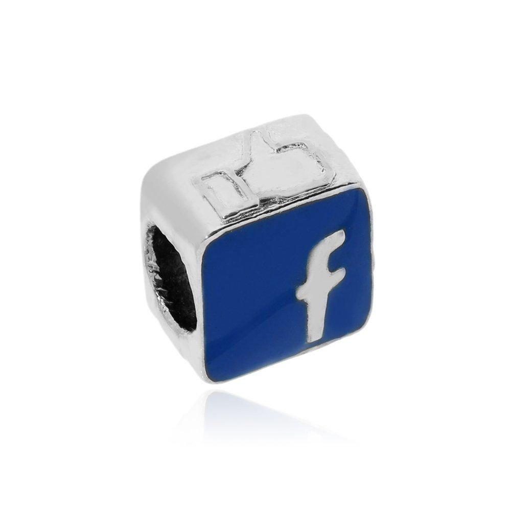 Berloque Facebook Bijoux