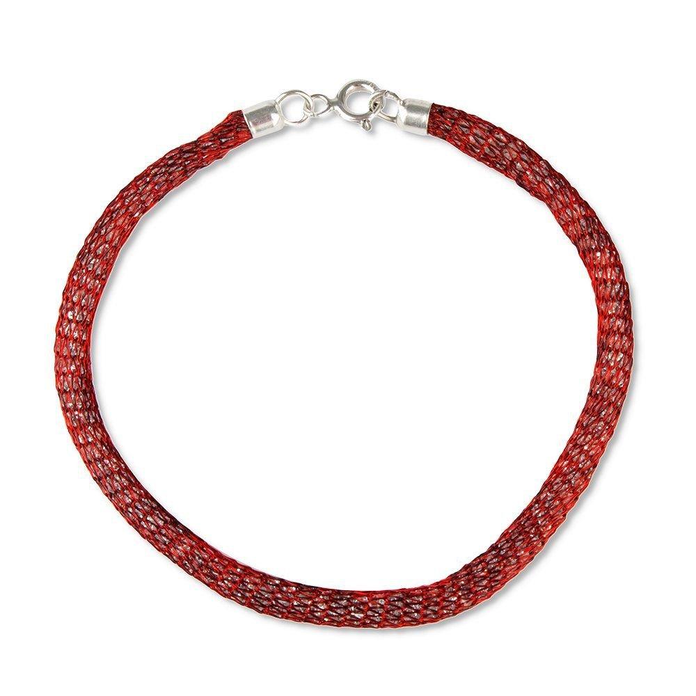 Pulseira Nylon Vermelha