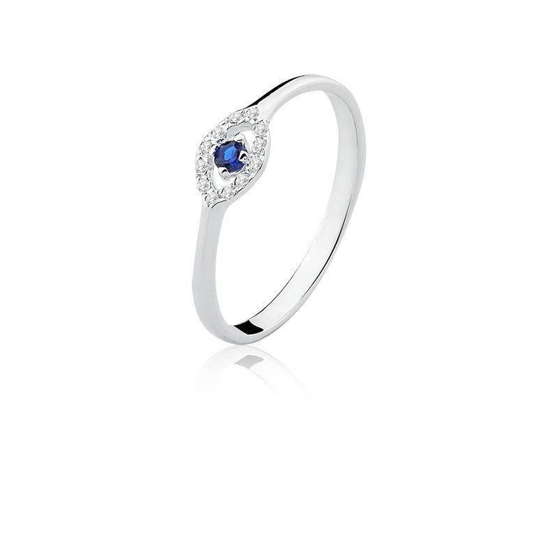 Anel Olho Grego Azul