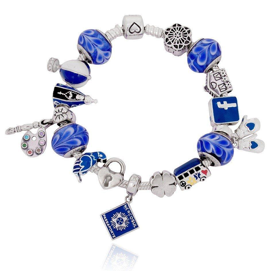 Berloque Ararinha Azul