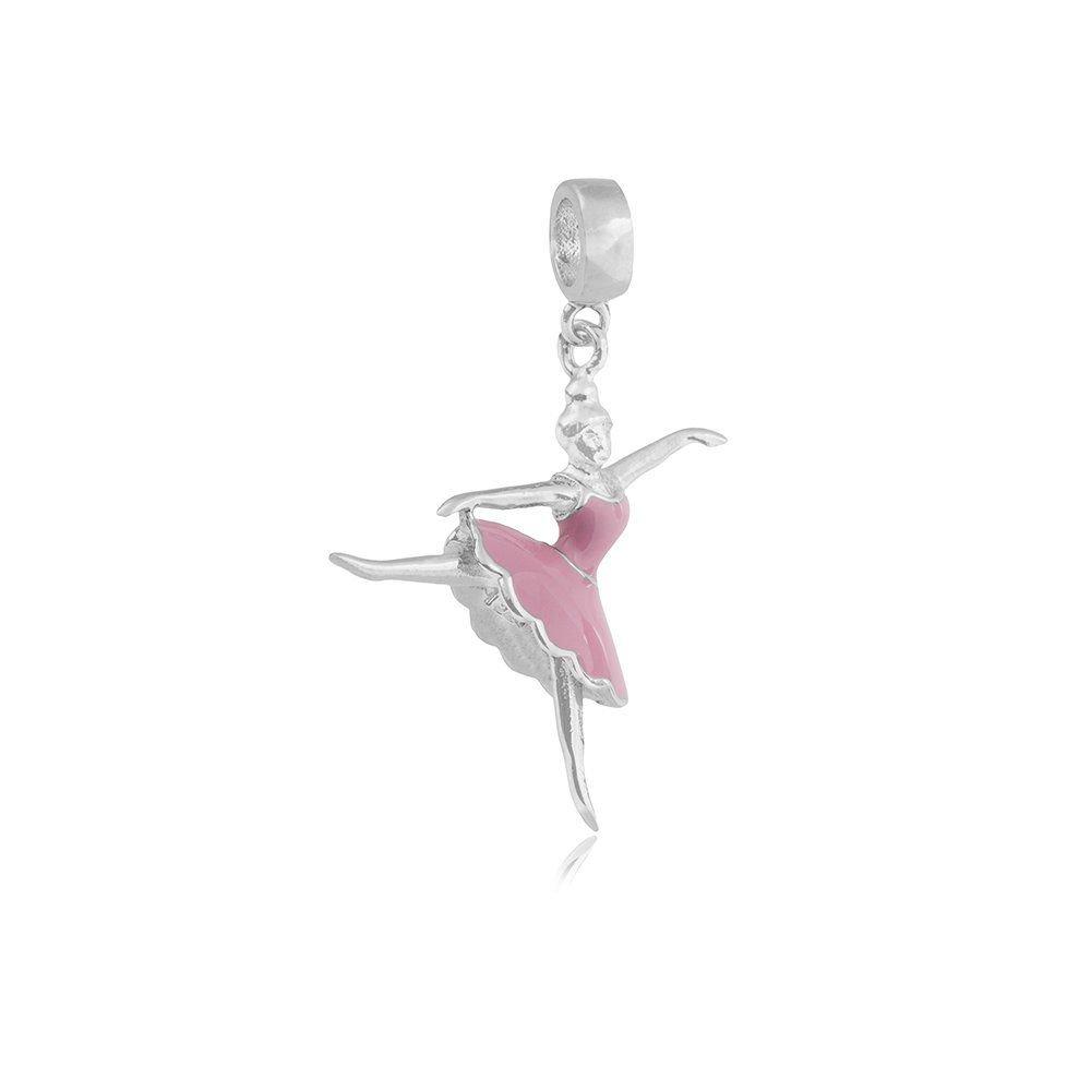Berloque Bailarina Rosinha