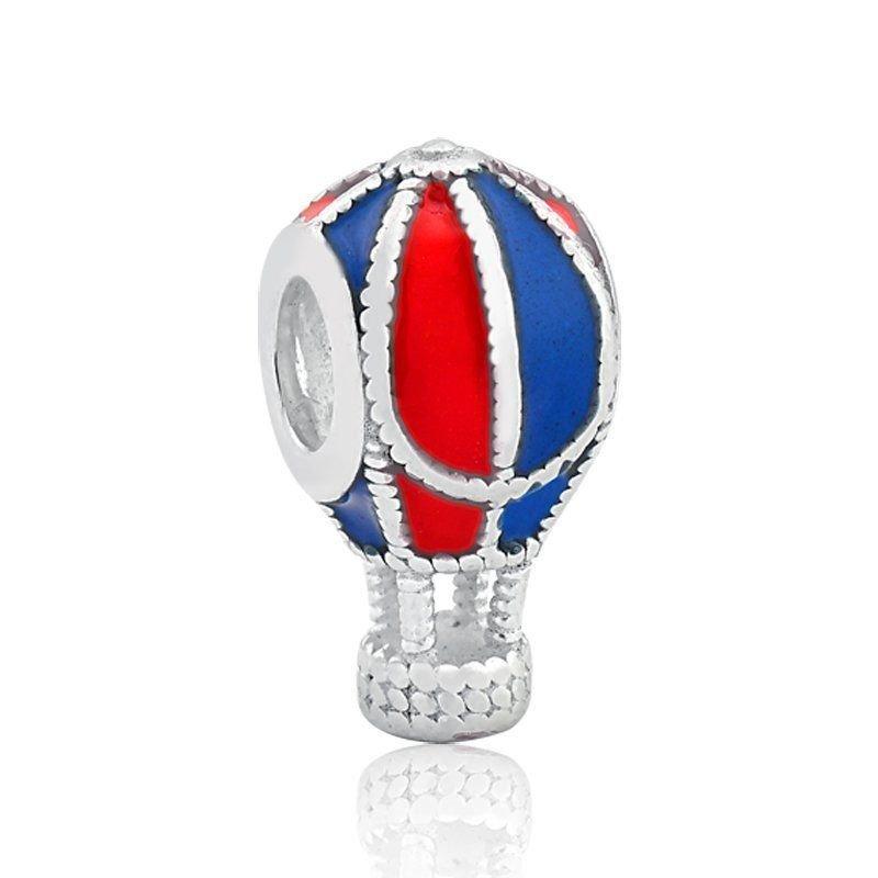 Berloque Balão Azul E Vermelho