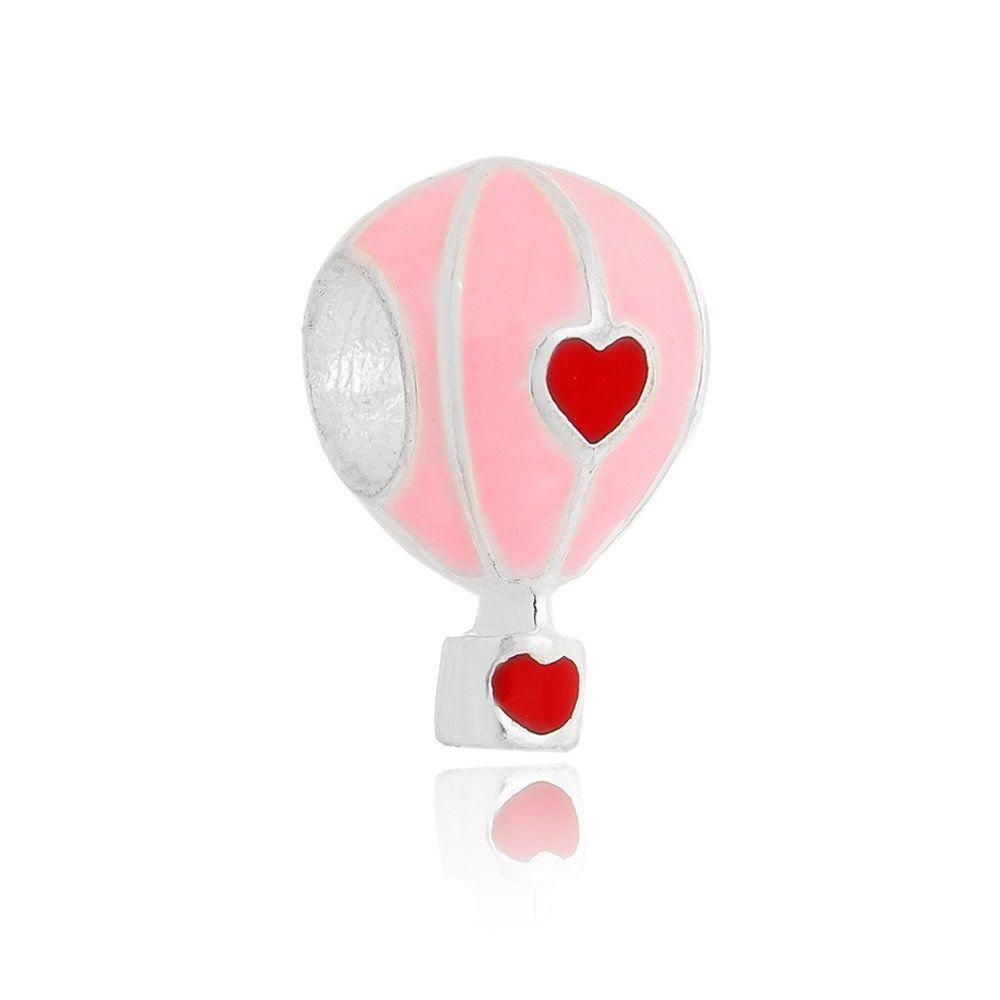Berloque Balão Rosa