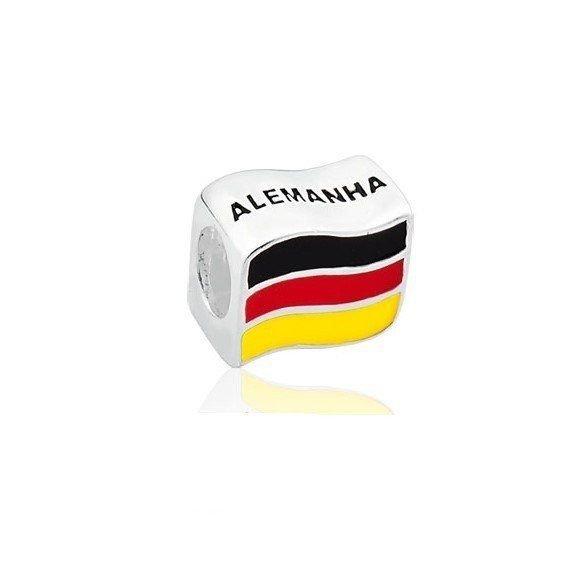 Berloque Bandeira Da Alemanha