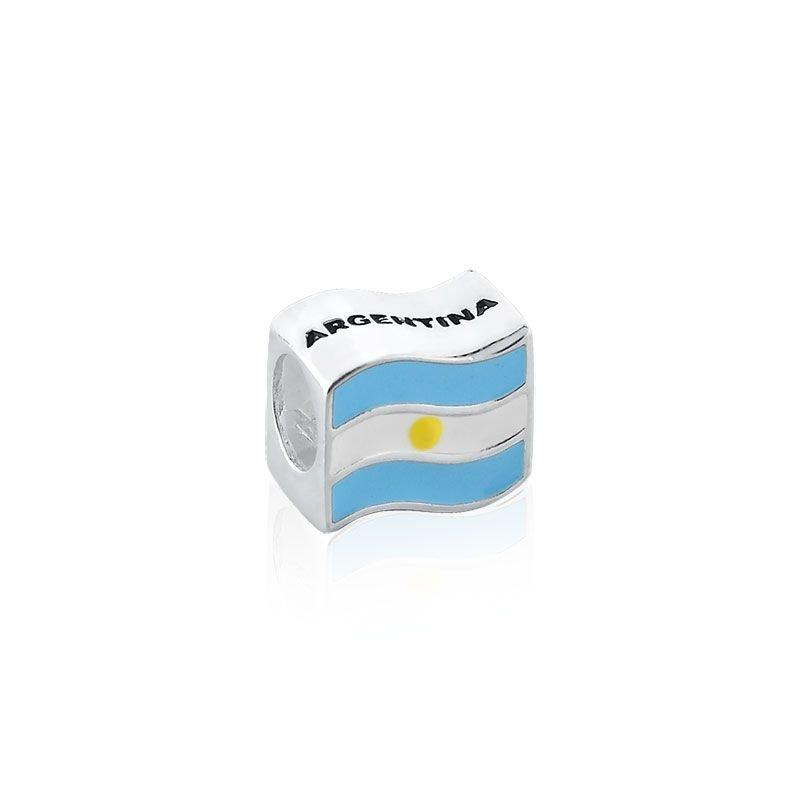 Berloque Bandeira Da Argentina