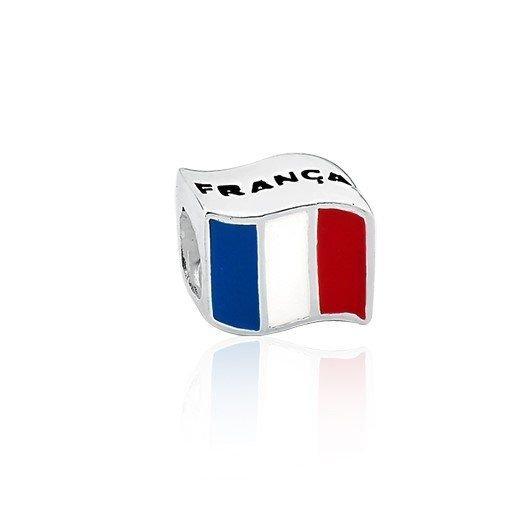 Berloque Bandeira Da França