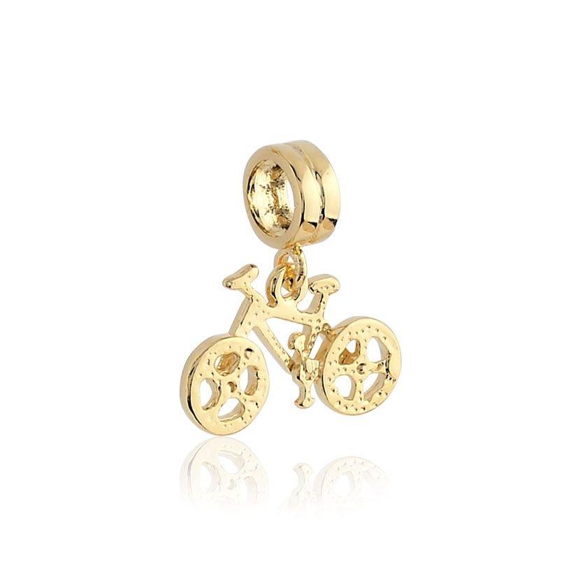 Berloque Bicicleta Dourada