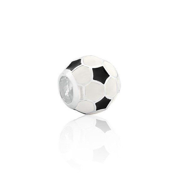 Berloque Bola de Futebol Esmaltada