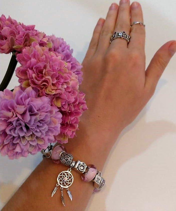 Berloque Bolsa Chanel Prata