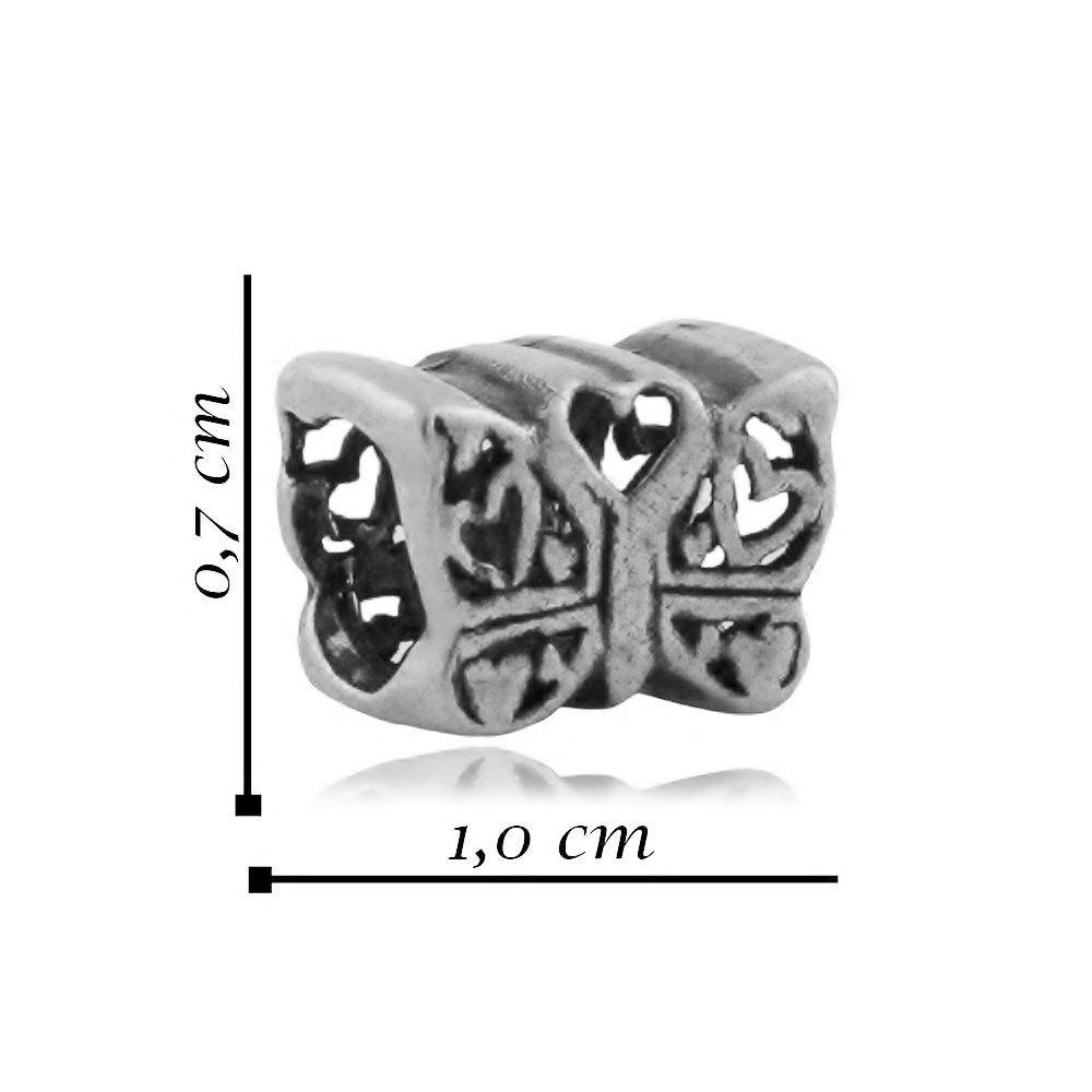 Berloque Borboleta Mini