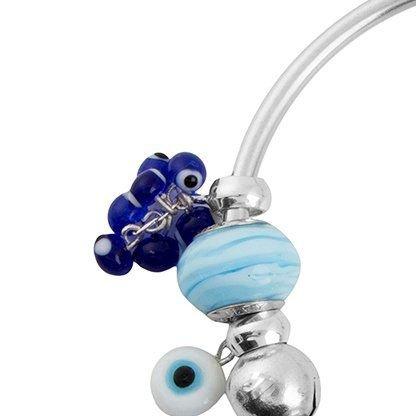 Berloque Cacho de Olho Grego Azul