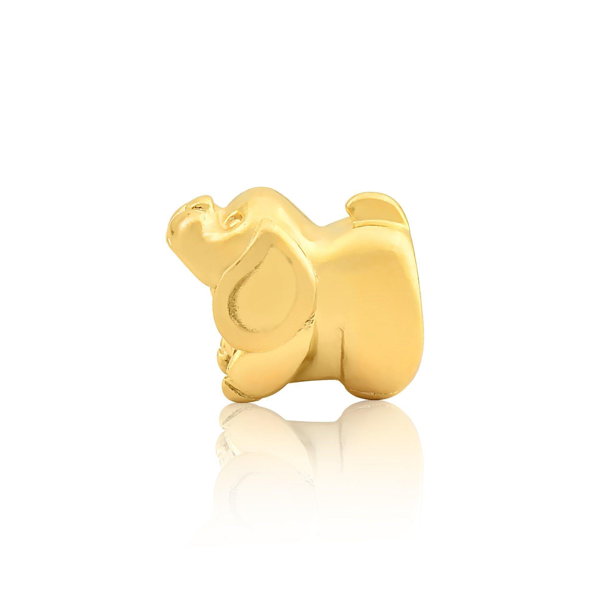 Berloque Cachorrinho Dourado