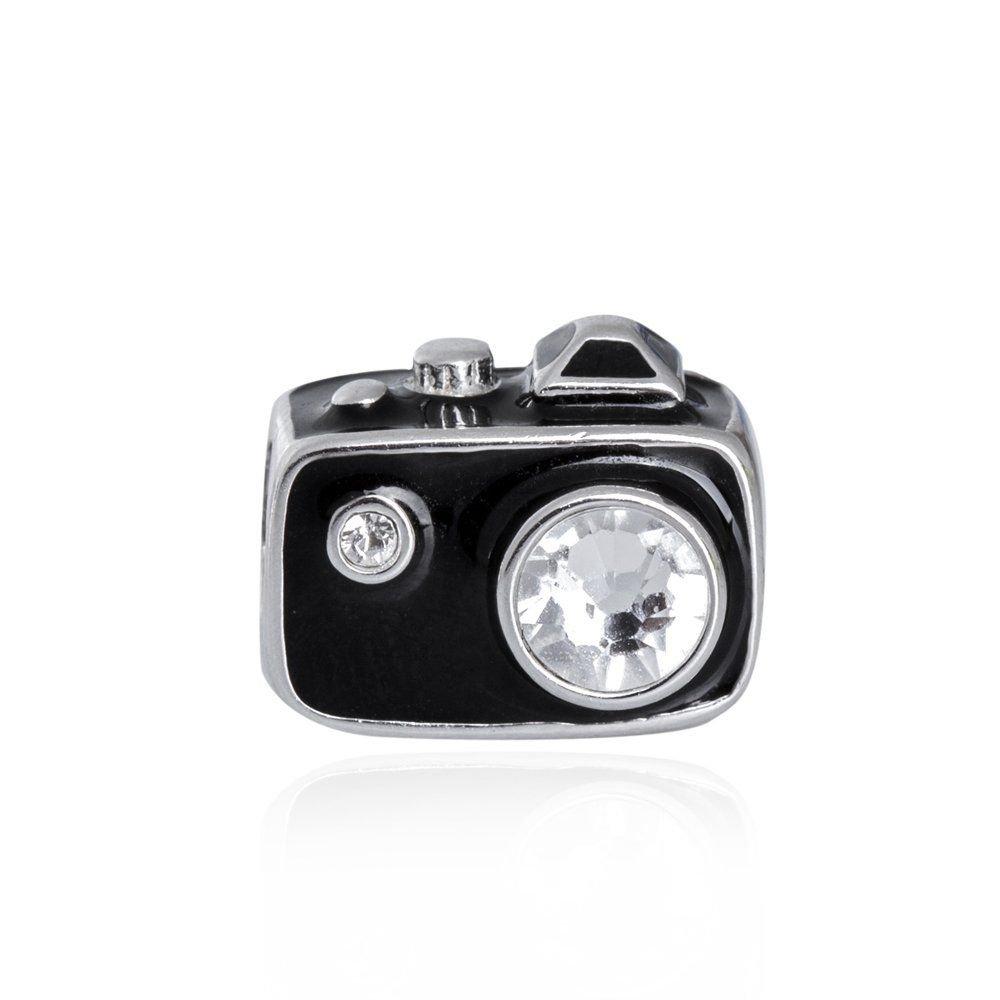 Berloque Câmera Fotográfica Preta II