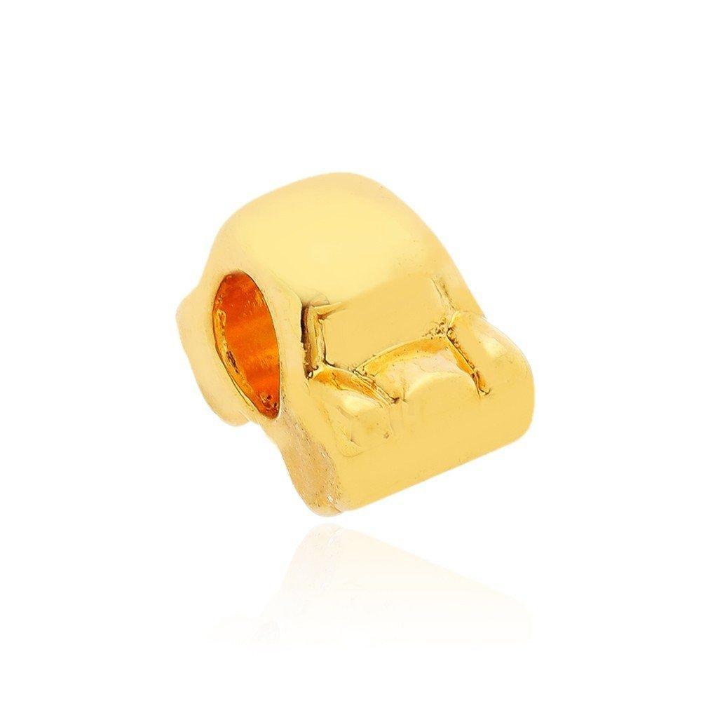 Berloque Carrinho Dourado