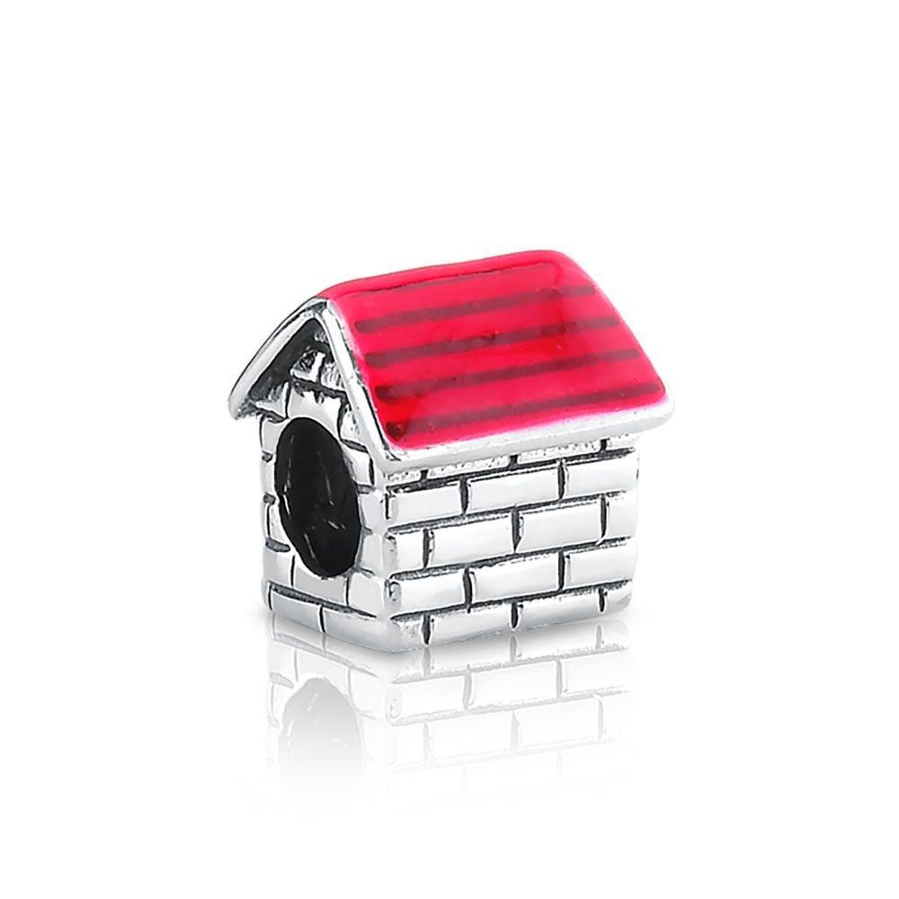 Berloque Casinha Vermelha