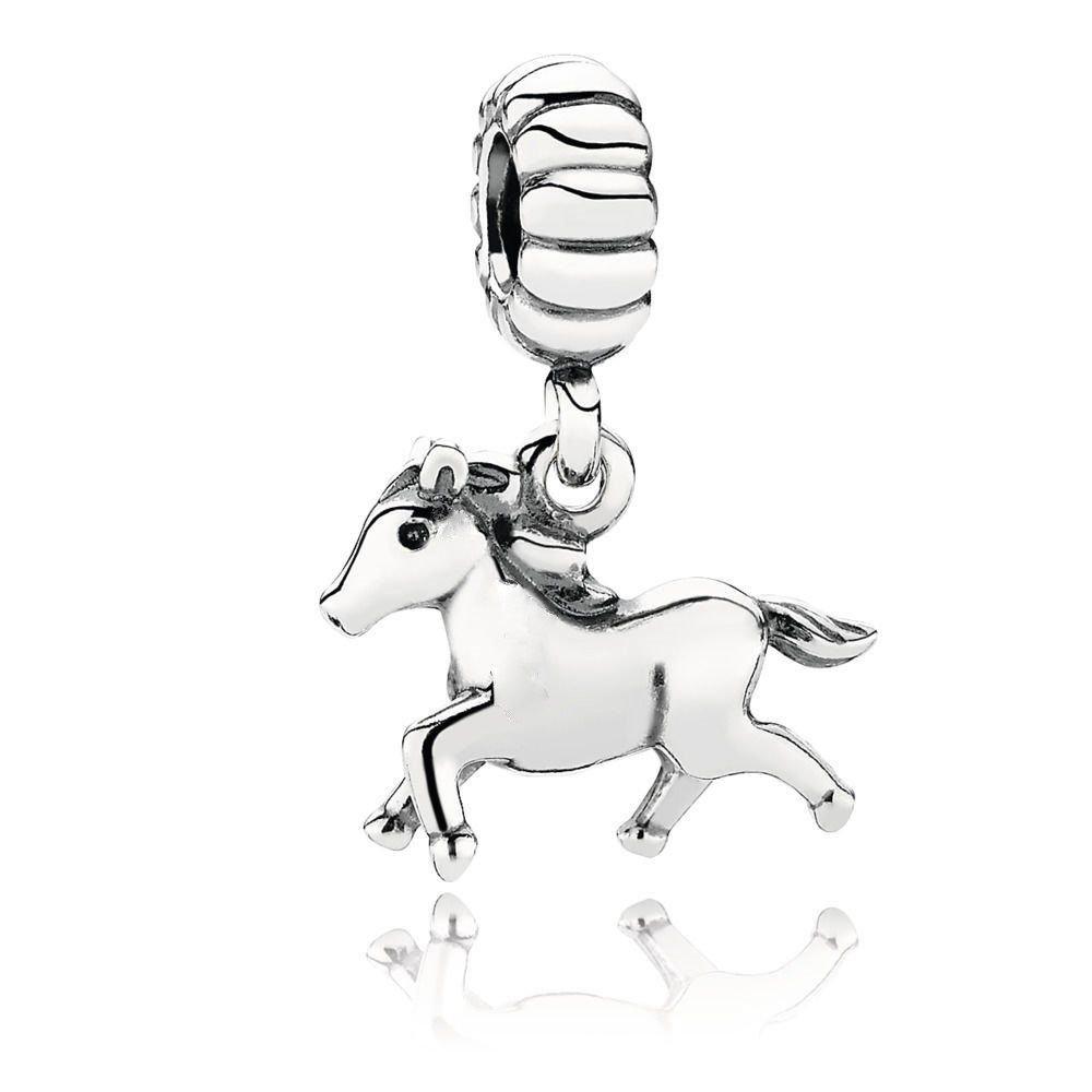 Berloque Cavalinho Prata