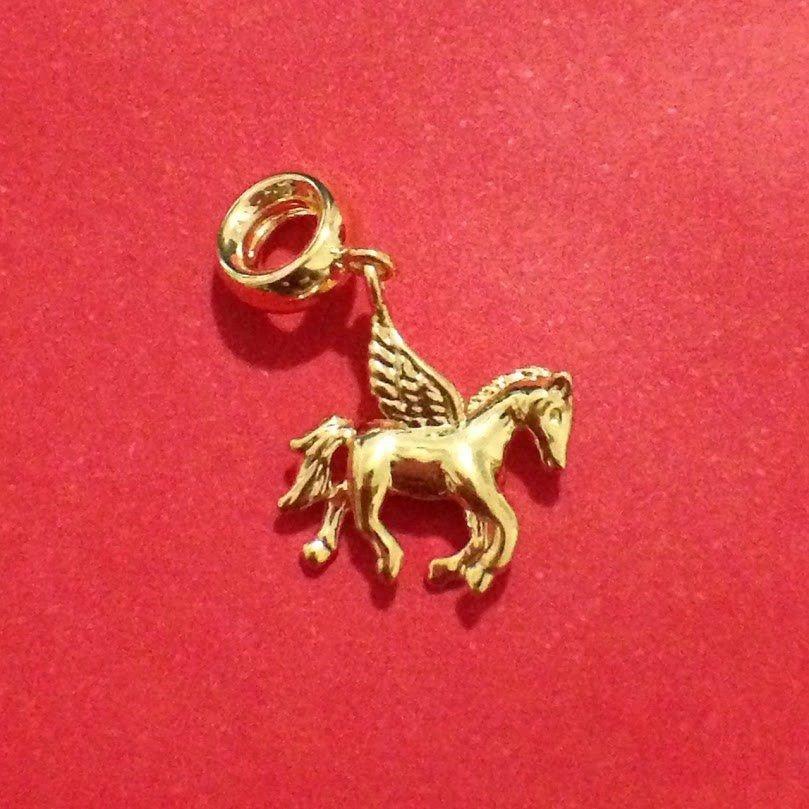 Berloque Cavalo com Asas