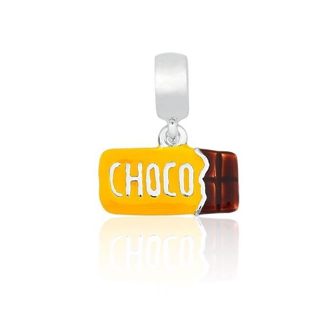 Berloque Chocolate Amarelo