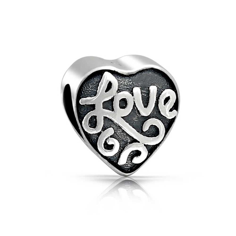 Berloque Coração Amor