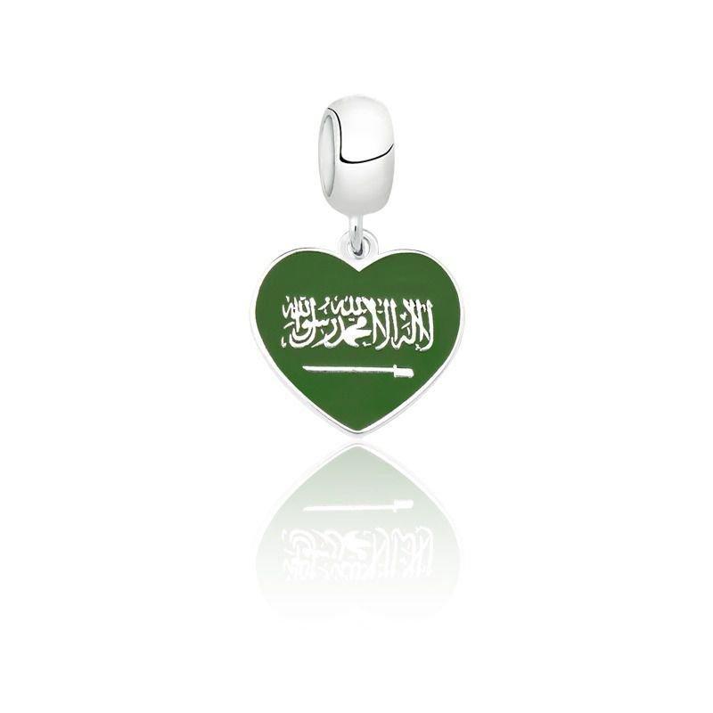 Berloque Coração Arábia Saudita