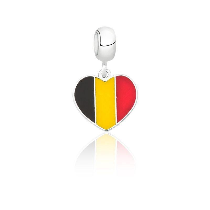 Berloque Coração Bélgica