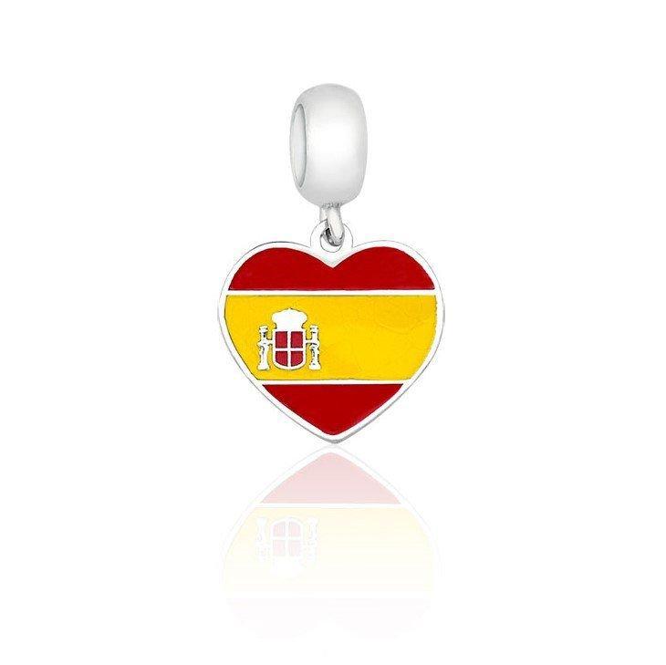 Berloque Coração Espanha